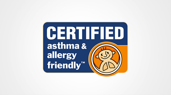 Certified asthma & allergy friendly™