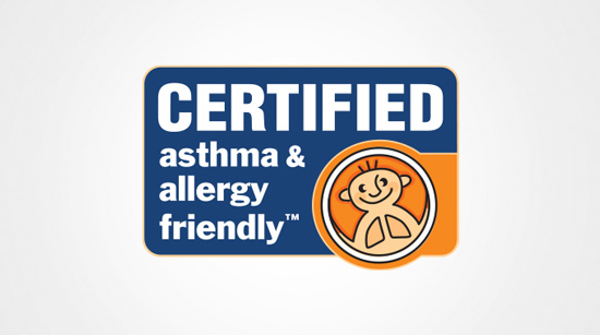 Certified asthma and allergy friendly™